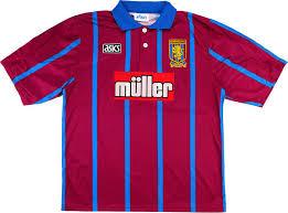 Aston Villa 1993-95 Home Shirt