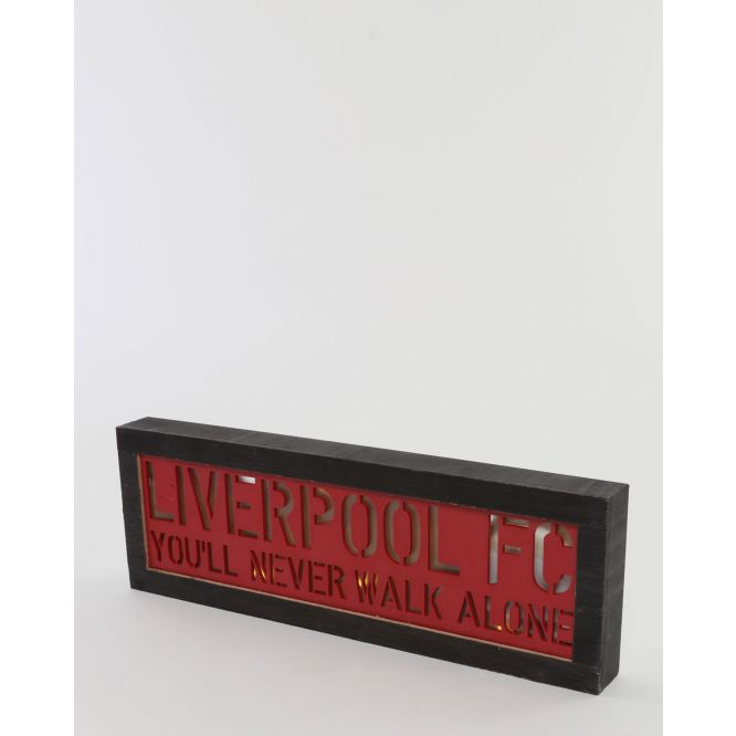 LFC Light Up Wooden Sign