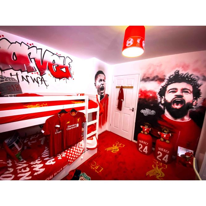 Liverpool FC Street art by MurWalls