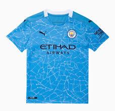 Manchester City Home Shirt 2020-21