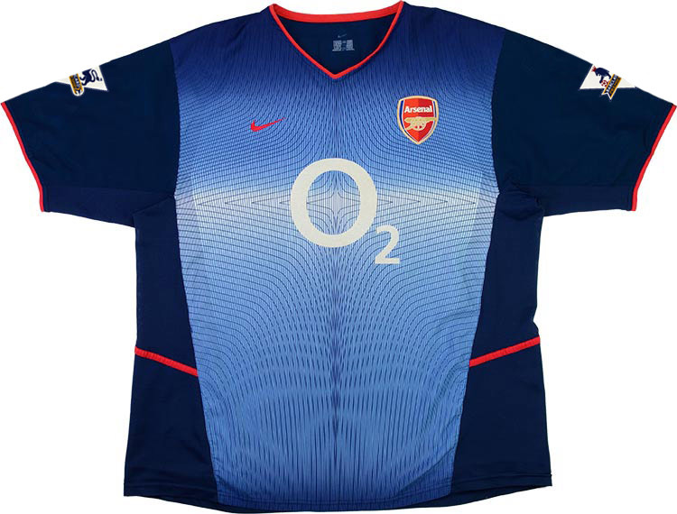 Arsenal 2002-03 Away Shirt