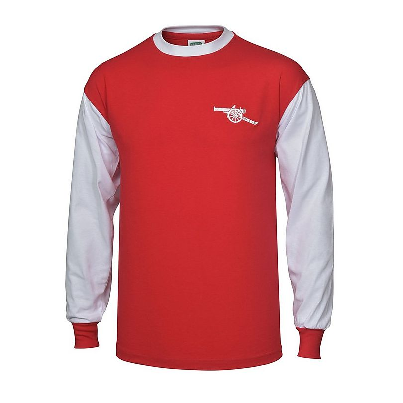 Arsenal 1970s Long-Sleeve Home Shirt