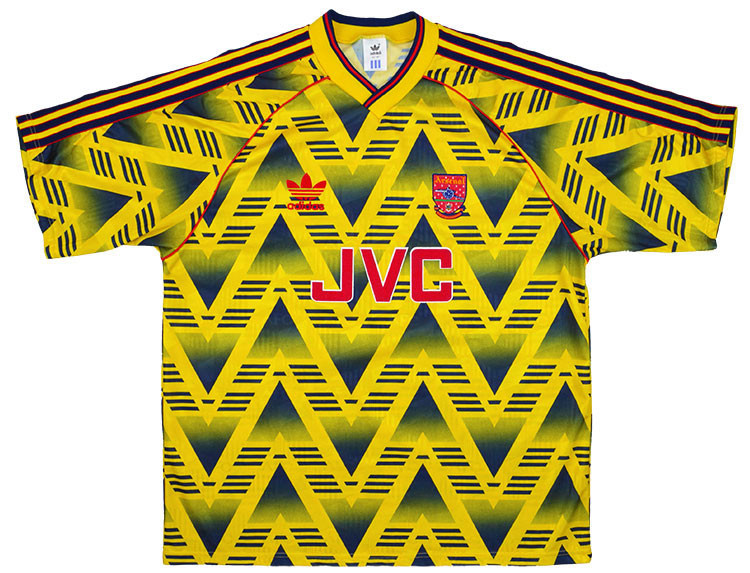 Arsenal 1991-93 Away Shirt