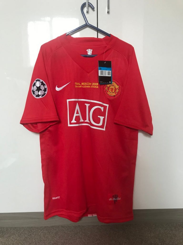 2008 Cristiano Ronaldo Champions League Shirt