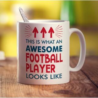 Customised Football Mug