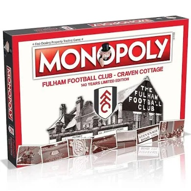 Fulham - 140 Years Limited Edition Monopoly