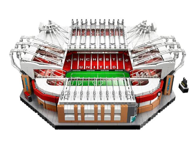 Manchester United Old Trafford Lego Stadium