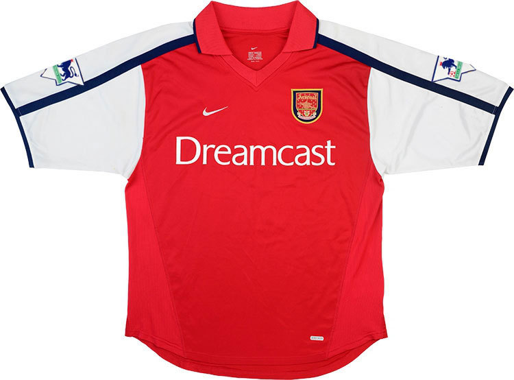 Arsenal 2000-02 Home Shirt