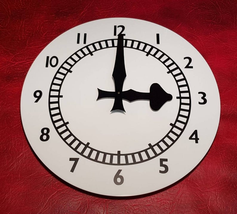 Clock End Replica Wall Clock