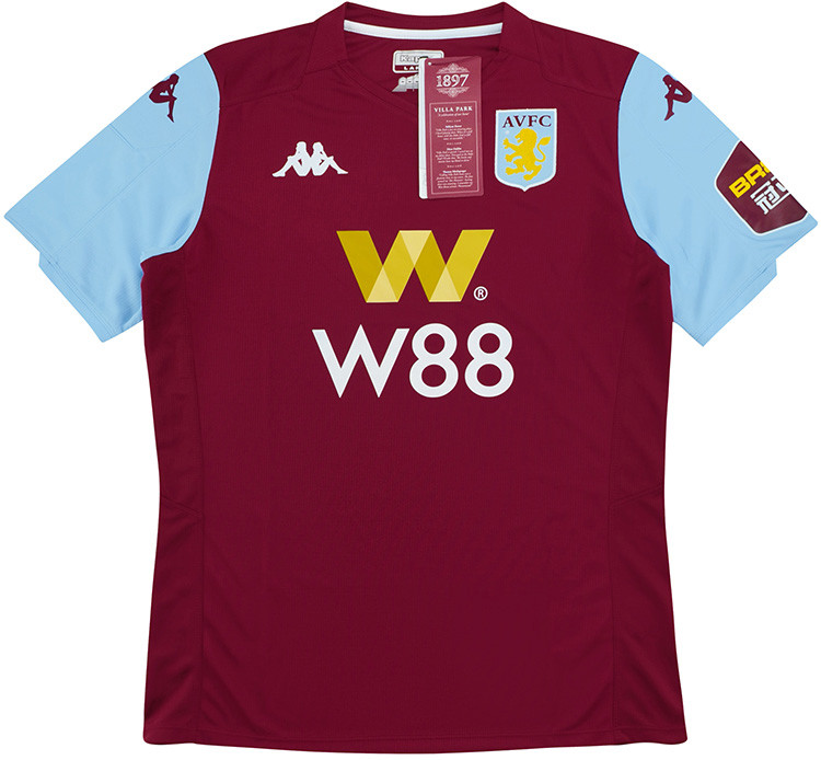 Aston Villa 2019-20 Home Shirt