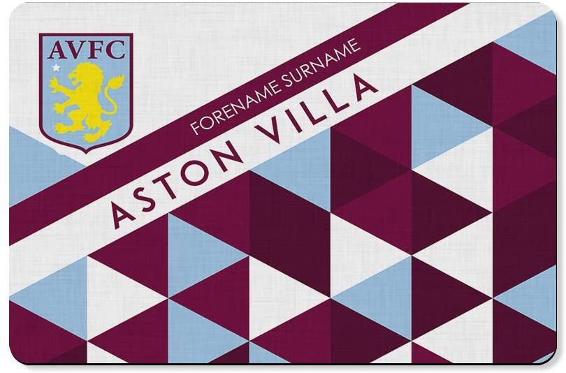Aston Villa - Official Personalised Rear Car Mats
