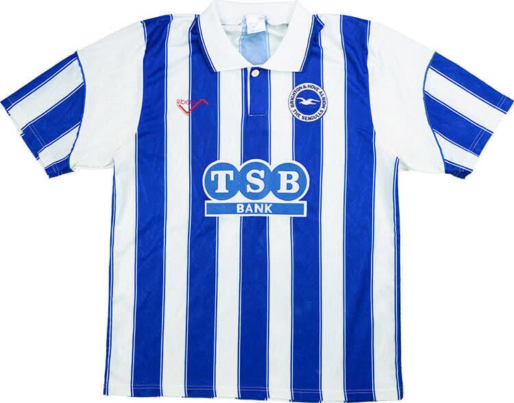 Brighton & Hove Albion 1991-93 Home Shirt