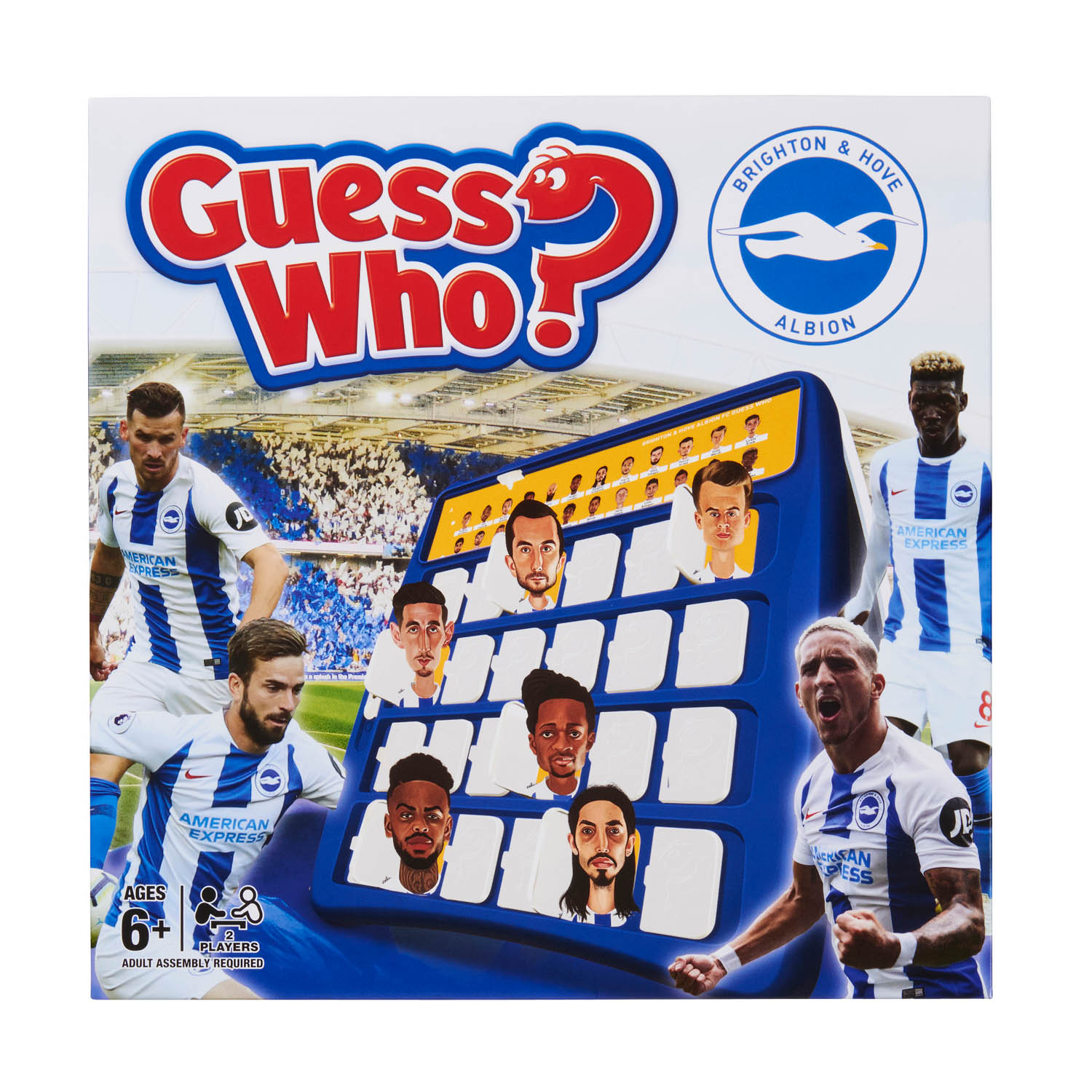 Brighton and Hove Albion Guess Who Game