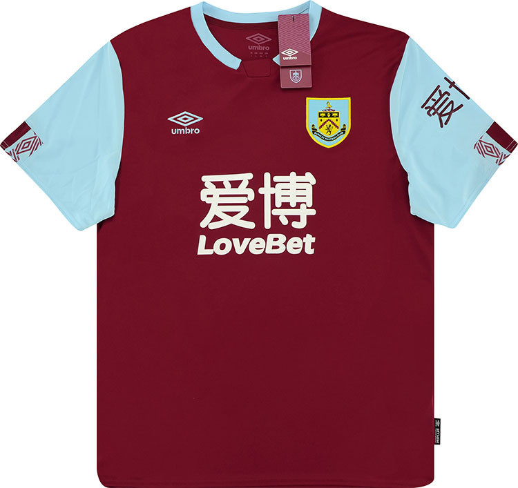 Burnley 2019-20 Home Shirt