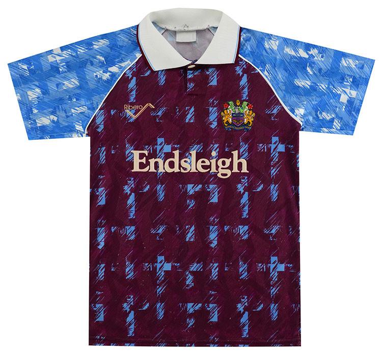 Burnley 1991-93 Home Shirt