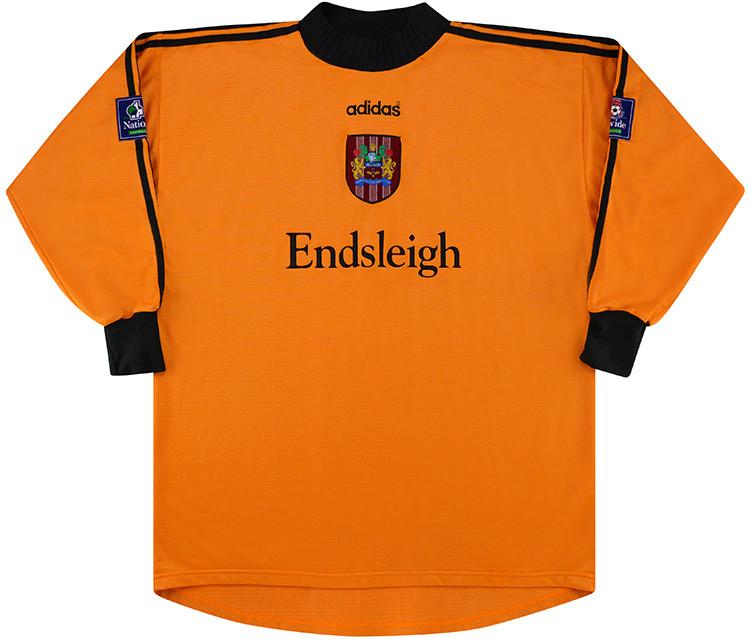 Burnley 1996-97 Goalkeeper Shirt