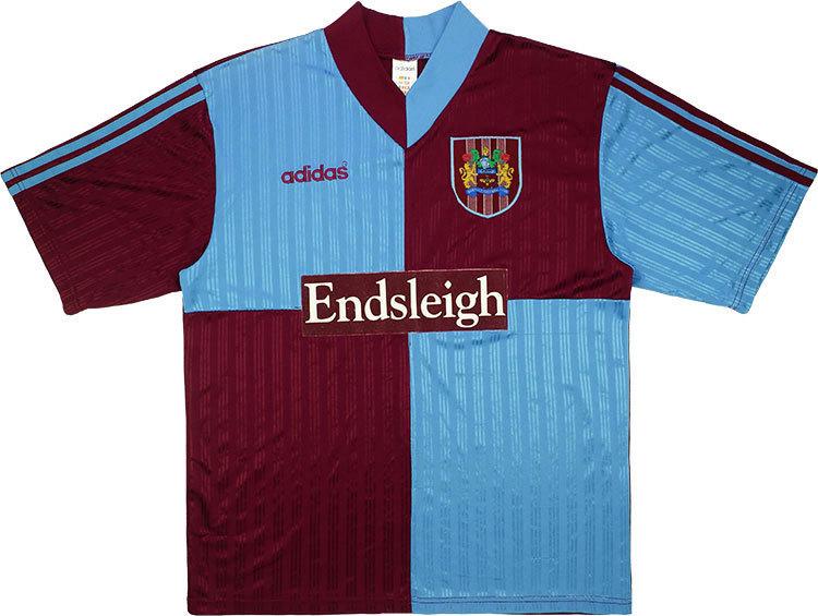 Burnley 1996-98 Home Shirt