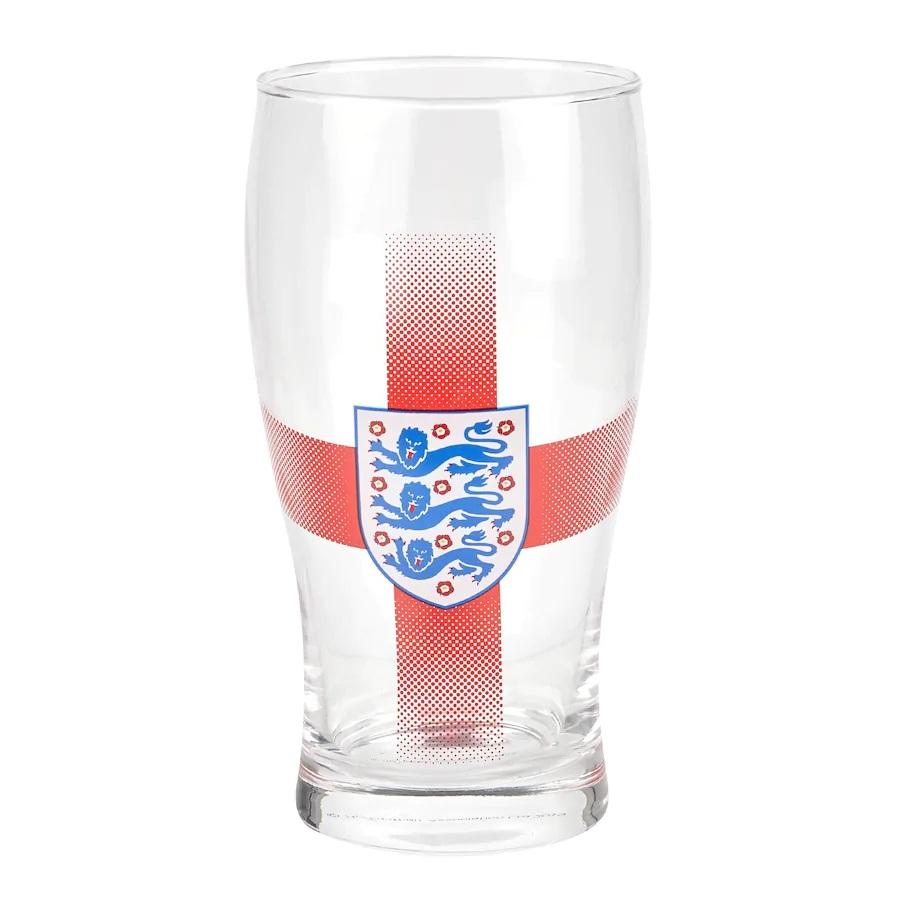 England Tulip Pint Glass