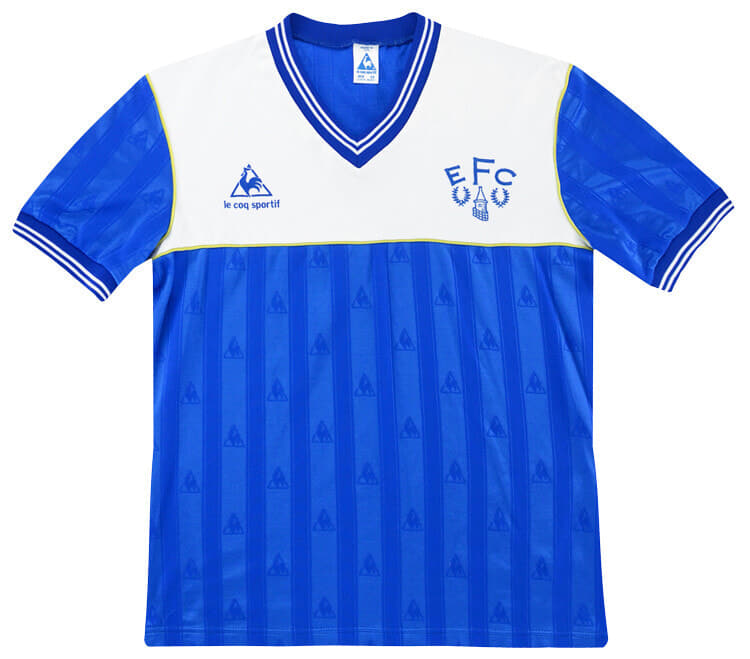 Everton 1985-86 Home Kit