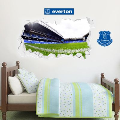 Goodison Park Broken Wall Sticker