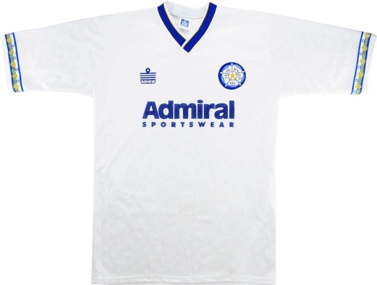 Leeds United 1992-93 Home Shirt