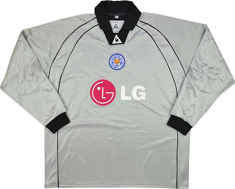 Leicester City 2001-02 Goalkeeper Shirt