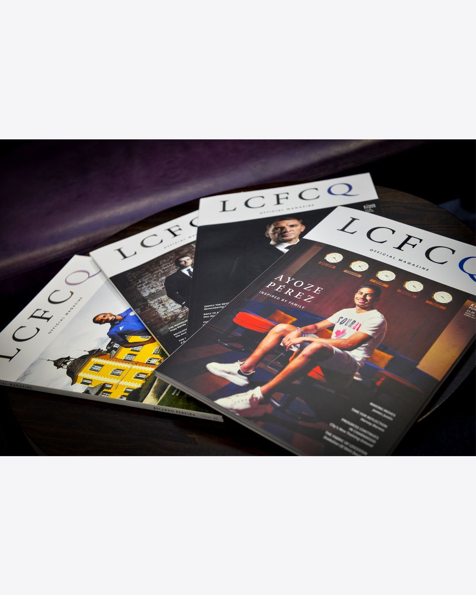 Leicester City Magazine Subscription