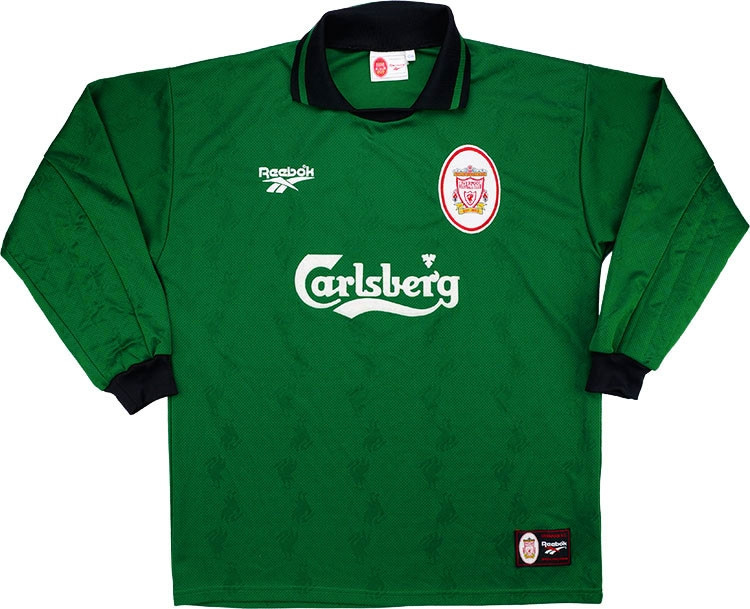 Liverpool 1996-97 Goalkeeper Shirt