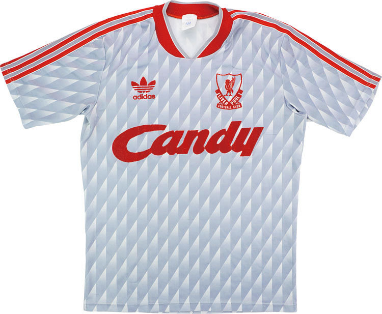 Liverpool 1989-91 Away Shirt