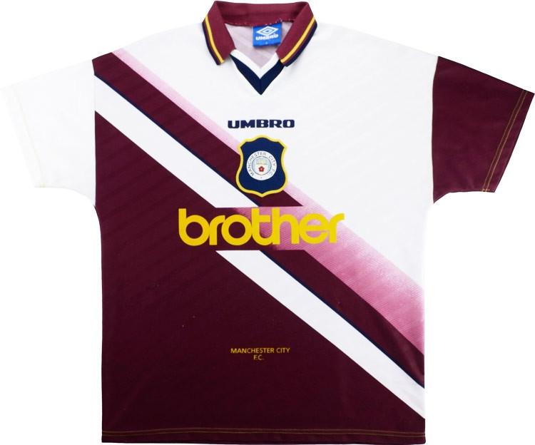 Manchester City 1996-97 Away Shirt