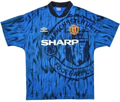 Manchester United 1992-93 Away Shirt