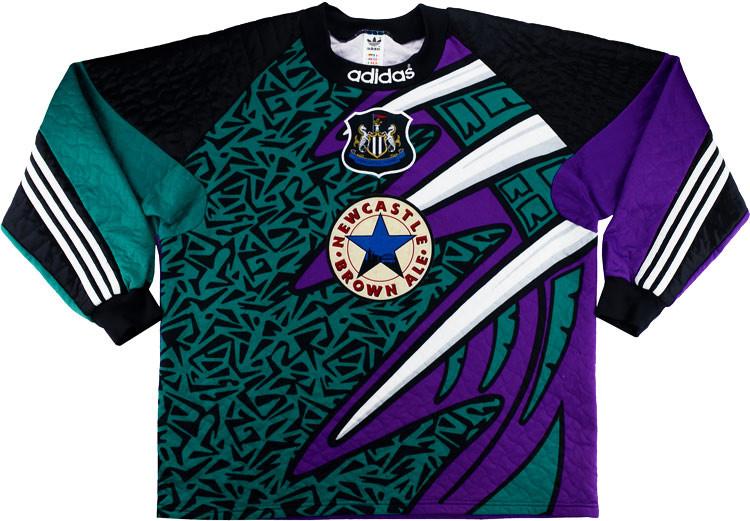 Newcastle United 1995-96 Goalkeeper Shirt