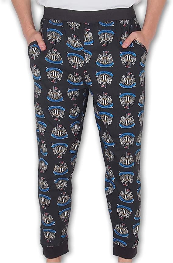 Newcastle United FC Official Mens Lounge Pants Pyjama Bottoms