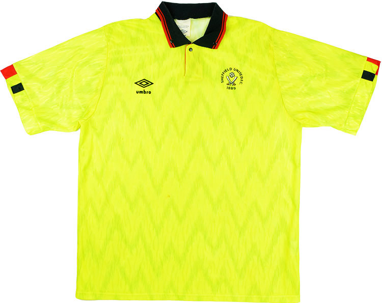 Sheffield United 1989-91 Away Shirt