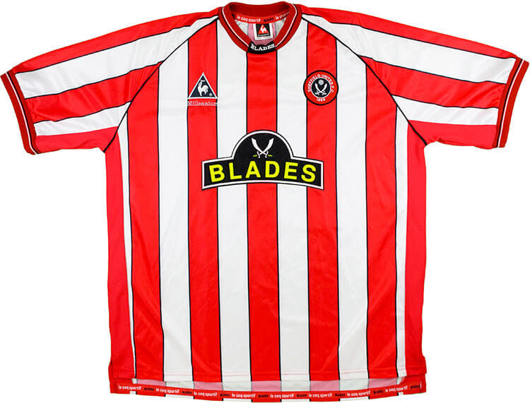 Sheffield United 1999-00 Home Shirt
