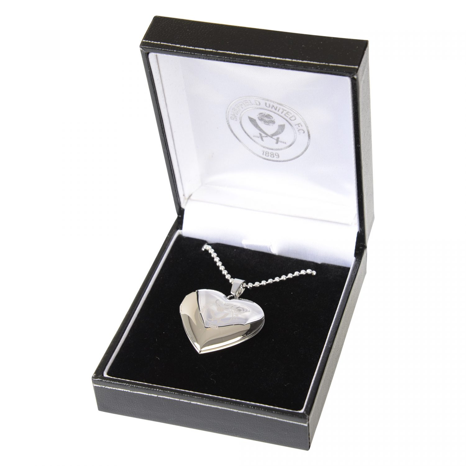 Sheffield United Heart Locket and Chain