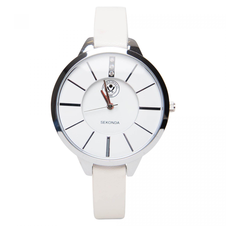 Sekonda White Strap Watch