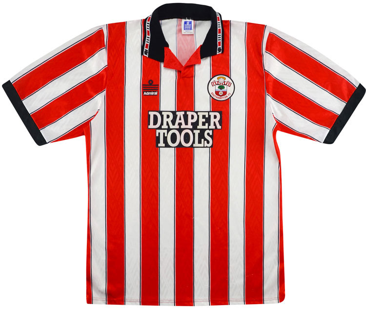 Southampton 1991-93 Home Shirt