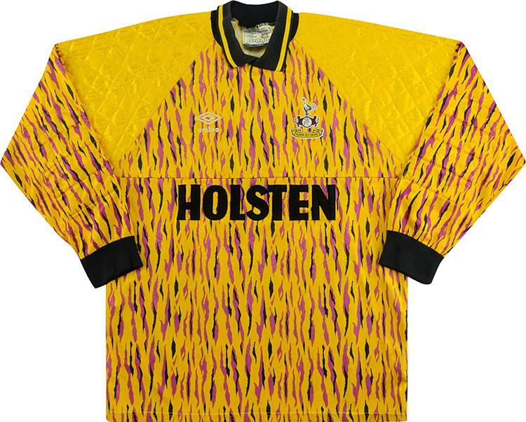 Tottenham Hotspur 1991-93 Goalkeeper Shirt