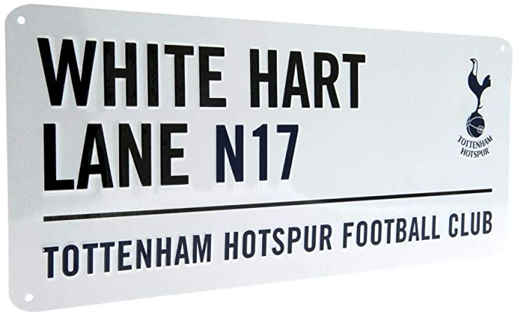Tottenham Hotspur FC 'White Hart Lane' Street Sign