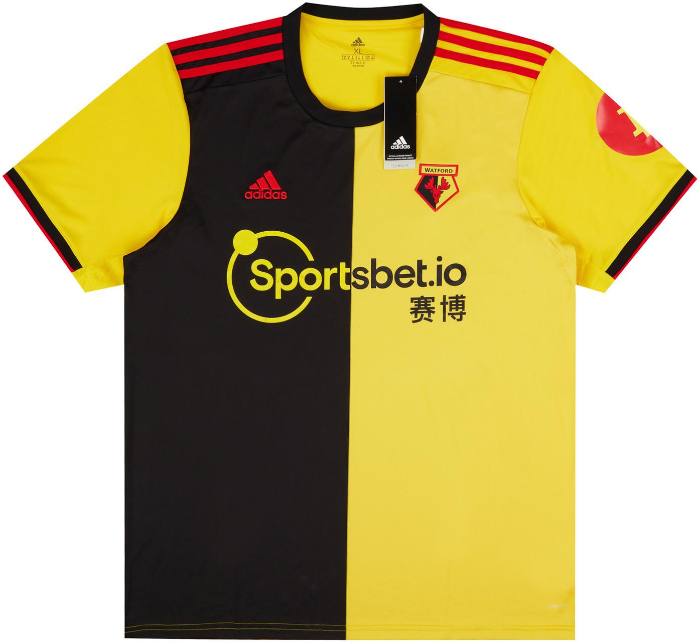Watford 2019-20 Home Shirt