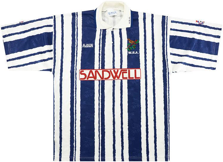West Brom 1992-93 Home Shirt