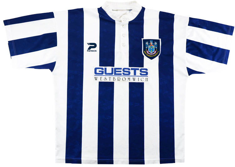 West Bromwich Albion 1996-97 Home Shirt