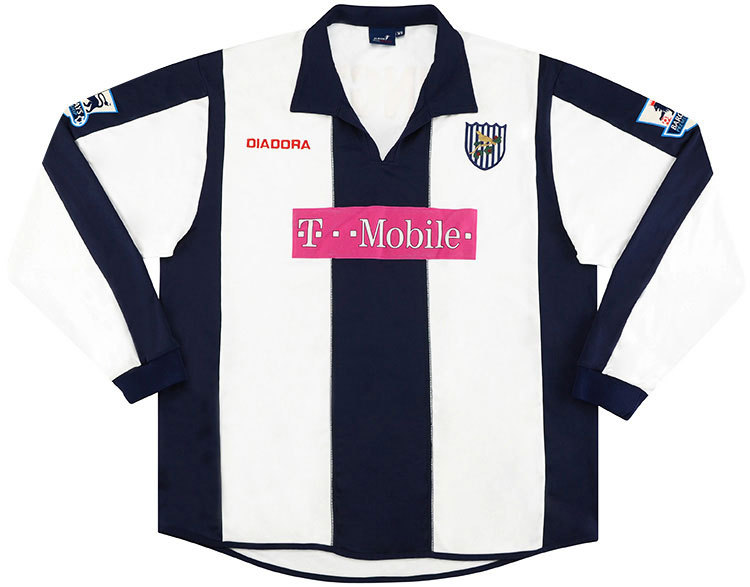 West Bromwich Albion 2005-06 Home Kit