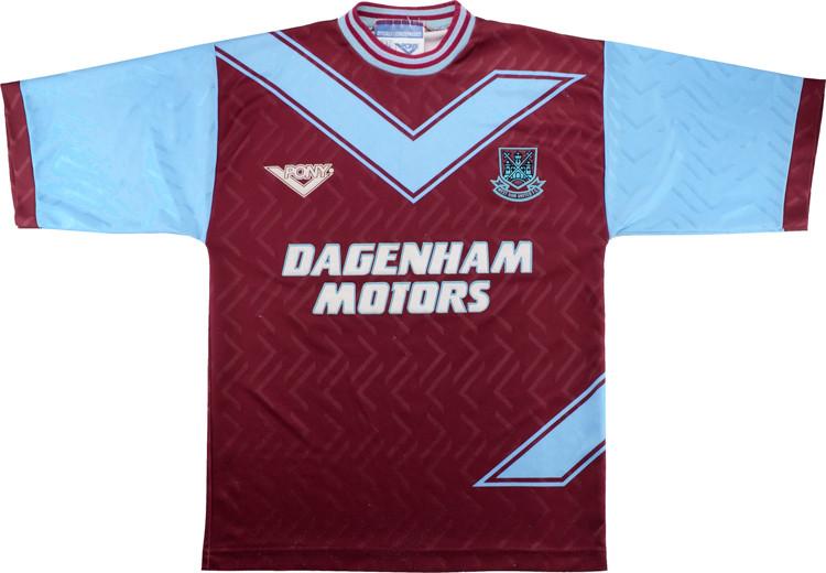 West Ham United 1993-95 Away Shirt
