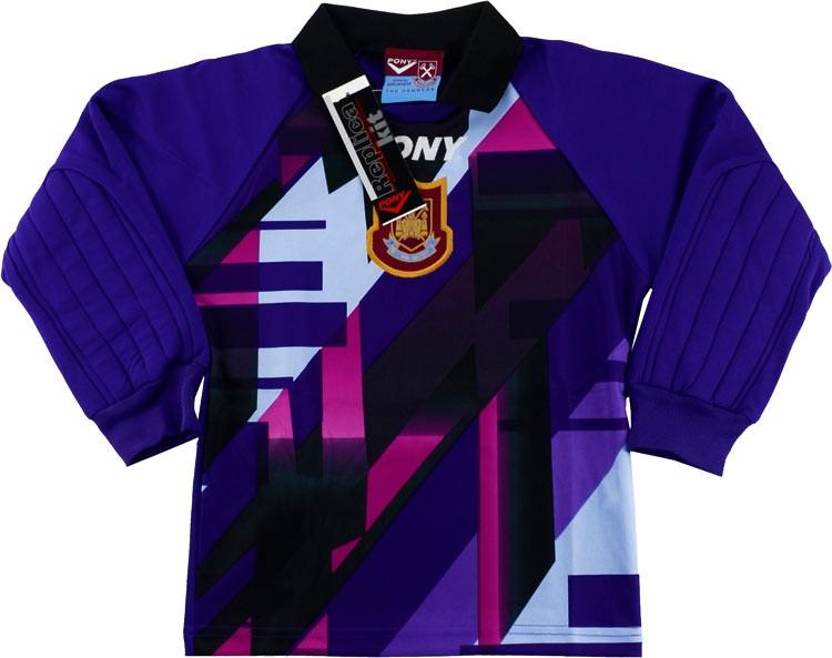 West Ham United 1997-98 Goalkeeper Shirt