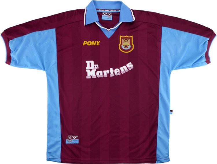 West Ham United 1998-99 Home Shirt