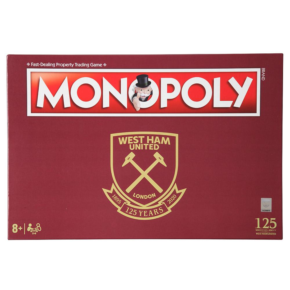 West Ham 125 Years Anniversary Monopoly
