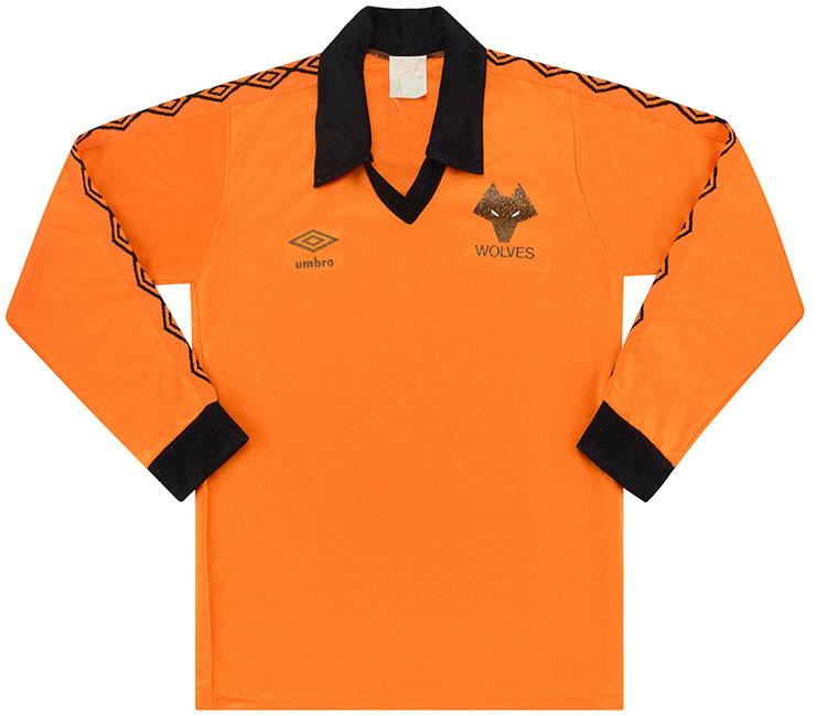 Wolves 1979-82 Home Shirt