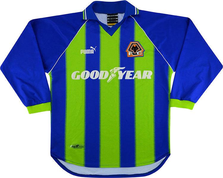 Wolverhampton Wanderers 1998-00 Goalkeeper Shirt